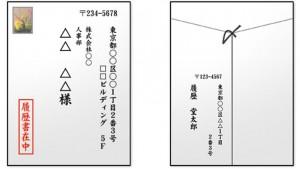 同様に、横書き封筒であれば、 住所の書き方も横が一般的です。